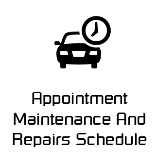 Appointment Maintenance And Repairs Schedule