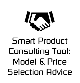 Smart Product Consulting Tool: Model & Price Selection Advice